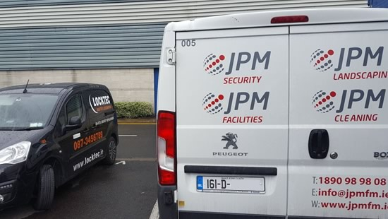 Peugeot Expert Van Locks