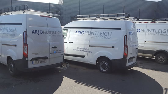 Ford Trasit Van Locks Ireland